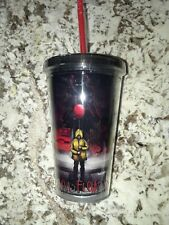 STEPHEN KINGS IT 16Oz. Travel Tumbler W/Reusable Ice Cubes New