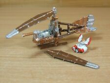 INCOMPLETE CLASSIC METAL WARHAMMER DWARF GYROCOPTER PART PAINTED (628)
