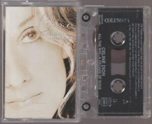 Celine Dion Cassette K7 Tape Mc All The Way ... A Decade Of Song