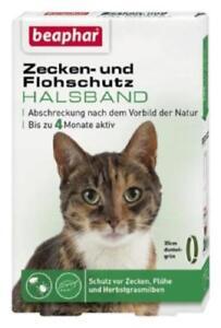 Beaphar Zecken- und Flohschutz Halsband Katze 35 cm nach Vorbilder der Natur