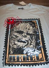 STAR WARS CHEWBACCA CHEWY REBEL T-Shirt 2XL XXL NEW w/ TAG