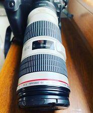 Canon EF 70-200mm F/4 L IS USM Lens