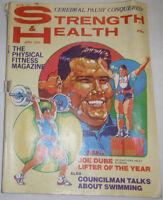 Strength & Health Magazine Joe Dube Lifter Of The Year April 1970 110414R