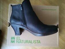 EL NATURALISTA Stiefelette ESPIRAL Gr. 41 schwarz NEU