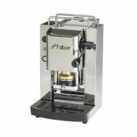 macchina da caffe in cialde faber slot total inox+ 150 cialde in omaggio.