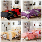 Two Colour Single/Queen/King Size Bed Quilt/Doona/Duvet Cover Set New 100%Cotton
