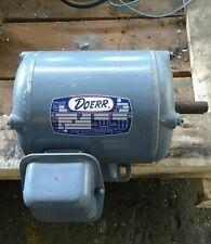 Doerr 1/2 HP 3 Phase A.C. Motor LR-13758