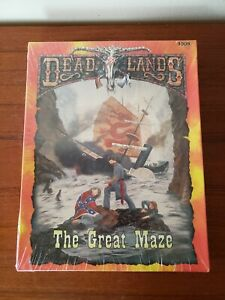 Deadlands - The Great Maze - BOX SET - 1008 - RPG PB - 1998  NEW