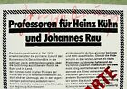 signed: Joseph BEUYS 1975:  KITSCHPOSTKARTE;   political card, Staeck