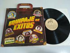 "Equipaje de Exitos Camilo Sesto Roxy Music Status Quo - LP Vinilo 12"" VG/VG"
