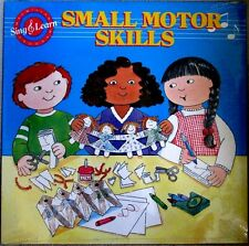 Sing & Learn Small Motor Skills 1988 MacMillan Program 09012 CHILDRENS Sealed LP