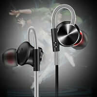 In Ear 3.5mm Wired Headphone Stereo Headset Magnetic Earbuds [Noise Cancelling]