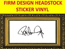 STICKER HEADSTOCK FIRM PAUL STANLEY KISS VISIT MY STORE FOR DECORATION GUITAR