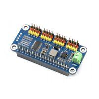 16-Channel 12-bit I2C Interface Servo Driver HAT for Raspberry Pi 0/0 W/2B/3B/3B