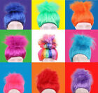 Movie Trolls Poppy Elf/Pixie Wigs Cospaly Kids Size Party Halloween Fluffy Props