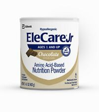 EleCare Jr Junior chocolate Infant Formula 14.1 Oz 01/22 02/22 12 Cans/2 Cases