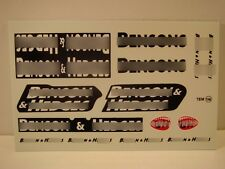 "DECALS 1/18 TABAC "" BEN . ON & HED . ES "" - VIRAGES  T156"