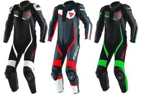 Dainese Veloster 1 Piece Motorcycle Leather Suit