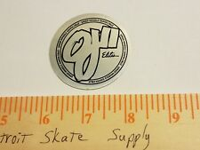 VTG 80's SANTA CRUZ OJII ELITE SPEED WHEELS MISPRINT NOS SKATEBOARD DECK STICKER