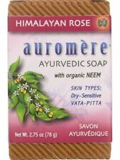 Auromere, Ayurvedic Bar Soap Himalayan Rose, 0.71 oz