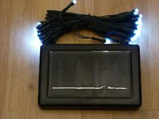 Energia Solare 50 LED Stringa Luci – bianco – Natale e parte C/C