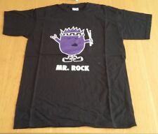 Men's drummer T Shirt, Mr Rock, black, size small, New
