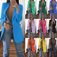 2019 NEW Fashion Women Casual Slim Business Blazer Suit Coat Jacket Outwear