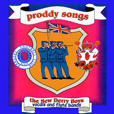 ** PRODDY SONGS **  The New Derry Boys- vocal and Inst LOYALIST/ULSTER/ORANGE CD