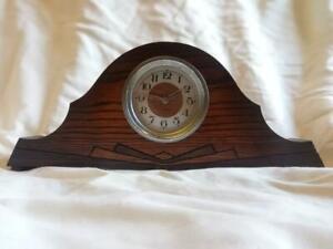ORIGINAL ART DECO MANTLE CLOCK c1930, ODEON / HOOVER FACTORY