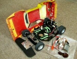 Vintage 1:12 Robbe Sonic Sports BWM 320/80 Nr. 3435 RC Car Auto Moosgummi Kyosho