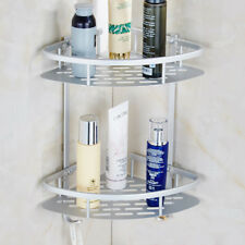 2 Layers Triangle Hook-Type Bathroom Shelf Toilet Paste Storage Hanging Rack