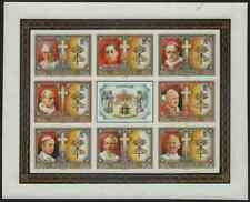 Belize 1986 Popes Easter sheet of eight MASTER PROOF on glossy plastic