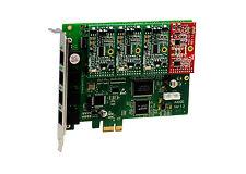 OpenVox A400E31 A400E 4 Port Analog PCI-E card + 3 FXS + 1 FXO, Ethernet (RJ45)