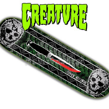 """Creature Skateboards Goner Records 8.6"""" Limited Edition Deck #1 of Only 250 Made"""