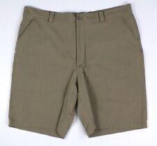mens khaki UNDER ARMOUR bent grass golf shorts 1201015 flat front sport 40 x 9