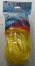 """Unicord 3/8""""  x 50 Ft Hollow Braid Polypropylene Anchor Line Rope w/ Snap 16638"""