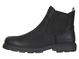 UGG BILTMORE CHELSEA BLACK Men's Leather Waterproof Boots 1103789