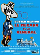 Poster Folded 47 3/16x63in the Mechanic de La General (1927) Buster Keaton