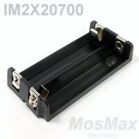 IM2X20700 MosMax dual 20700/21700 battery tray/holder/sled injection molded