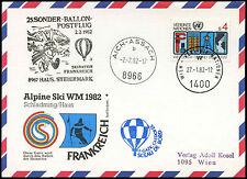 Nazioni Unite 1982 numero di riferimento Post volo CARD #C 16317