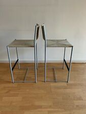 2 Vintage Barhocker / Bar stool  / mod. PALUDIS 151 by ALIAS design G. Belotti