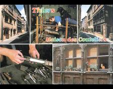 THIERS (63) MAISON des COUTELIERS , ARTISAN au travail 1997 ,DEBAISIEUX N°63.317