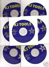 Karaoke KJ TOOLS 12 CDG Set 243 Greatest Karaoke Songs Pop ROCK Country Oldies