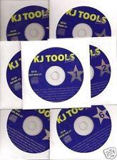 Karaoke KJ TOOLS 12 CDG Set 243 Greatest Karaoke Songs Pop ROCK Country Oldies