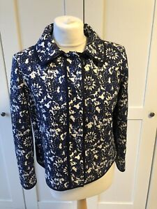 Carolina Herrera Blue Jacket US 8/UK12