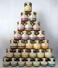 Honig Geschenk Set 24 Sorten bester Bienenhonig + 24 goldene Stoffbeutel