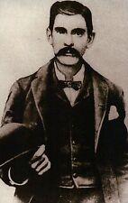 "James Henry "" Doc "" Holliday, Dentist, Friend of Wyatt Earp Wild West - Postcard"