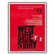 WEST SIDE STORY METAL SIGN WALL PLAQUE Film Movie Advert poster Cinema print