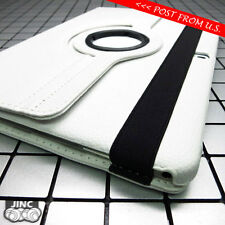 WHITE Leather Book Case Cover Pouch for Samsung SM-T900 T905 Galaxy Tab Pro 12.2
