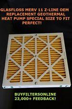 6 pk GF 29.5x35.75x2 GLASFLOSS MERV 11 PLEAT 30x36x2 GEOTHERMAL CLIMATE MASTER